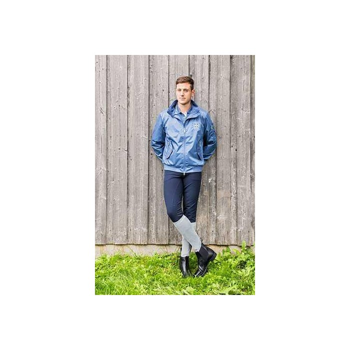Jezdecká a outdoorová bunda TOM, pánská, modrá, XS, poslední kusy