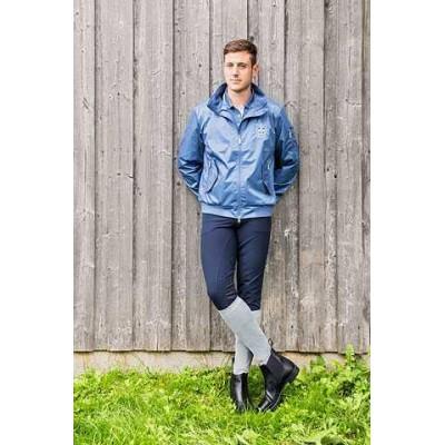 Jezdecká a outdoorová bunda TOM, pánská, modrá, XL, poslední kusy