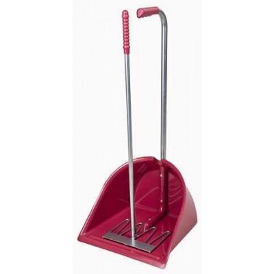 Lopata se škrabákem MISTBOY 90, rosé , ideální použití při transportu koní