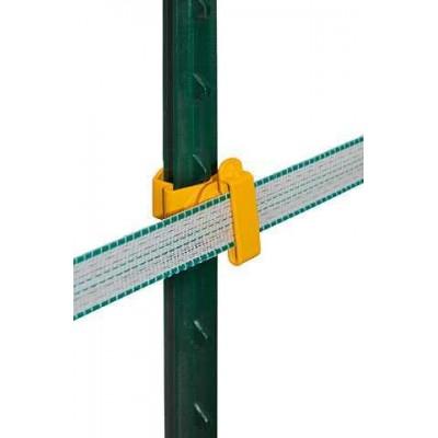 T-sloupek páskový izolátor, žlutý