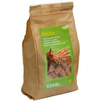 Pochoutka pro koně DELIZIA, mrkev, 1kg