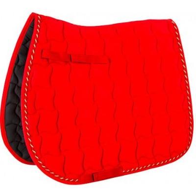 Podsedlová dečka - čabraka LAGUNA,teplá červená