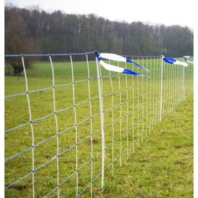Síť pro ovce, proti vlkům WolfNet Vario, výška sítě 108 cm, délka 50 m, dvojitý hrot