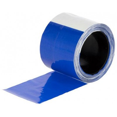 Páska pro ochranu stáda modrá/bílá, 80 mm, délka 100 m