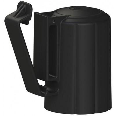 T-Post hlavicový izolátor, černý