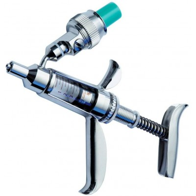Automat injekční 5ml, LL, FEROMATIC-Spritze M91, HENKE, 0, 1-5ml, s plněním z lékovky