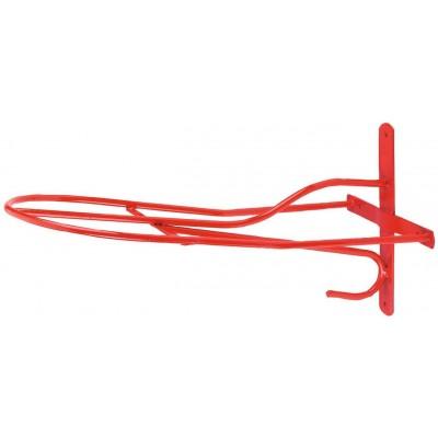 Věšák sedla angl.model , červený, délka 54cm