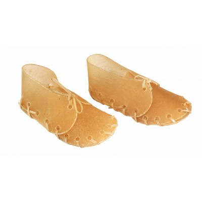 Žvýkací bota z hovězí kůže, 12cm