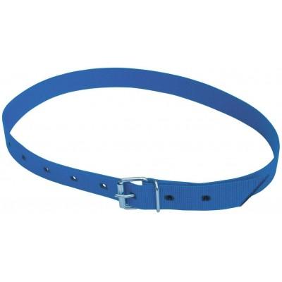 Obojek na krk tkaný, pro číselné označení modrý 120cm