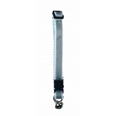 Obojek reflexní, 10mm, stříbrný