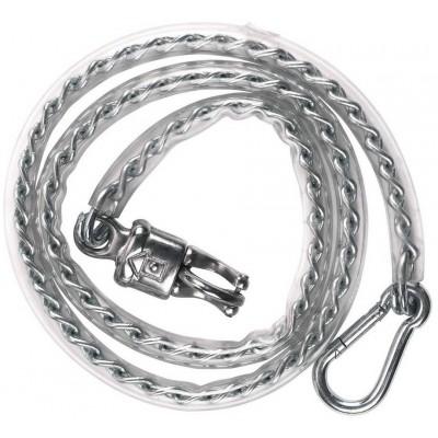 Vázací řetěz vodící s ochranou PVC, 140cm